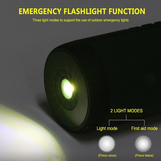 T2 Wireless Bluetooth Speakers Best Waterproof Portable Outdoor Loudspeaker Mini Column Box Speaker Design for iPhone Xiaomi 2
