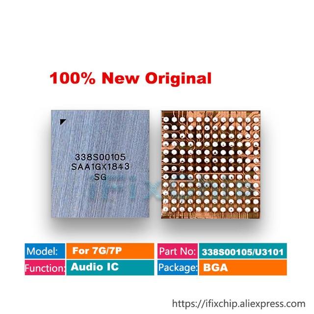 BestChip 100% New 5pcs/lot U3101 for iphone 7 7plus big main audio codec ic chip CS42L71