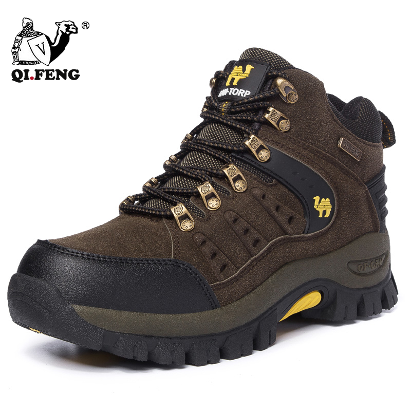 Couples Outdoor Mountain Desert Climbing shoes Men Women Ankle Hiking Boots Plus Size Fashion Trekking Footwear Camping Travel