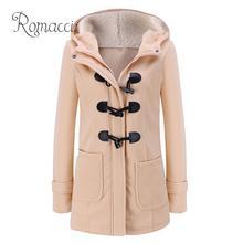 Hoodies Jacket Duffle Coat Women Outwear Parka Warm Female Winter Plus-Size Fashion Slim