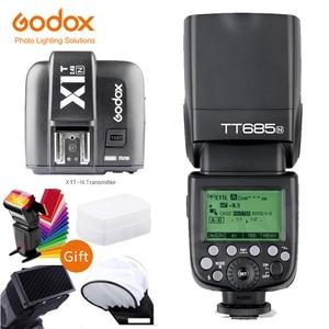 Image 3 - Godox TT685 TT685N 2.4G sans fil i ttl haute vitesse sync 1/8000s GN60 Flash Speedlite X1T N déclencheur pour appareil photo Nikon