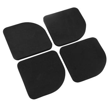 4pcs Washing Machine Anti Vibration Pad Shock Proof Non Slip Foot Feet Tailorable Mat Refrigerator Floor Furniture Protectors image