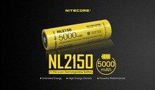 NITECORE batería recargable de iones de litio, 21700 V, 3,6 mah, 4000mah, 4500mah, NL2140 / NL2145/NL2150, 1 Uds.