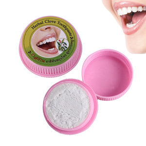 Image 3 - 10g/25g Herb Natural Herbal Clove Thailand Toothpaste Tooth Whitening Toothpaste Antibacterial Allergic Tooth Paste