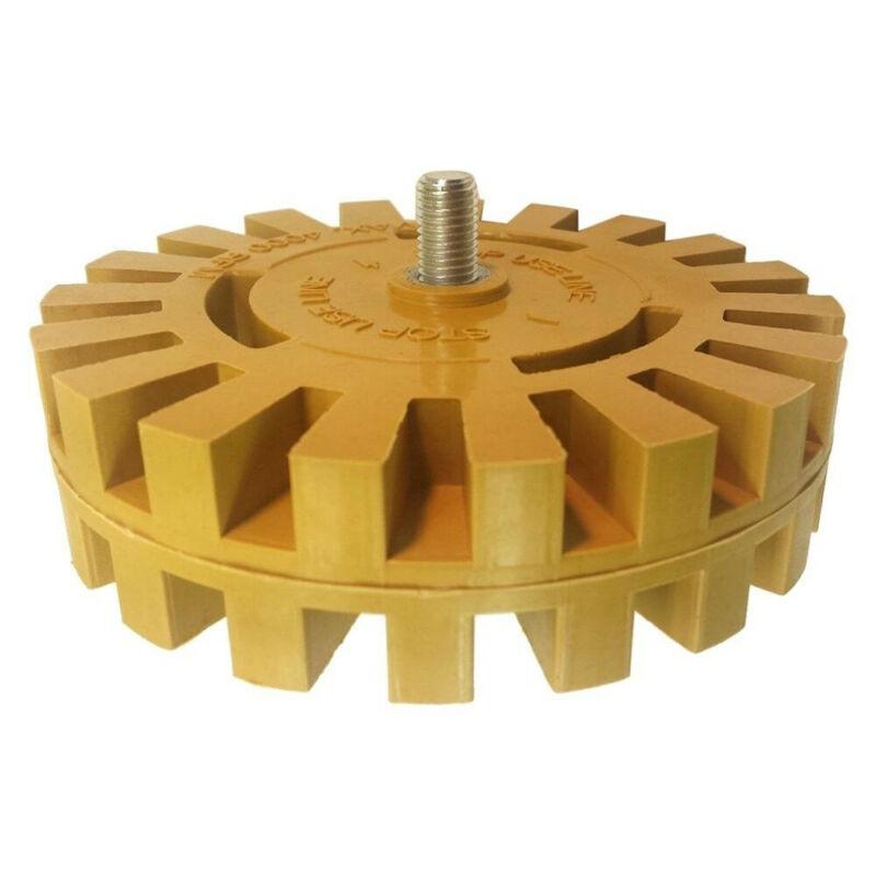 Removal Rubber Eraser Wheel Metalworking Abrasive Decal Adapter Pinstripe Polishing Durable Practical