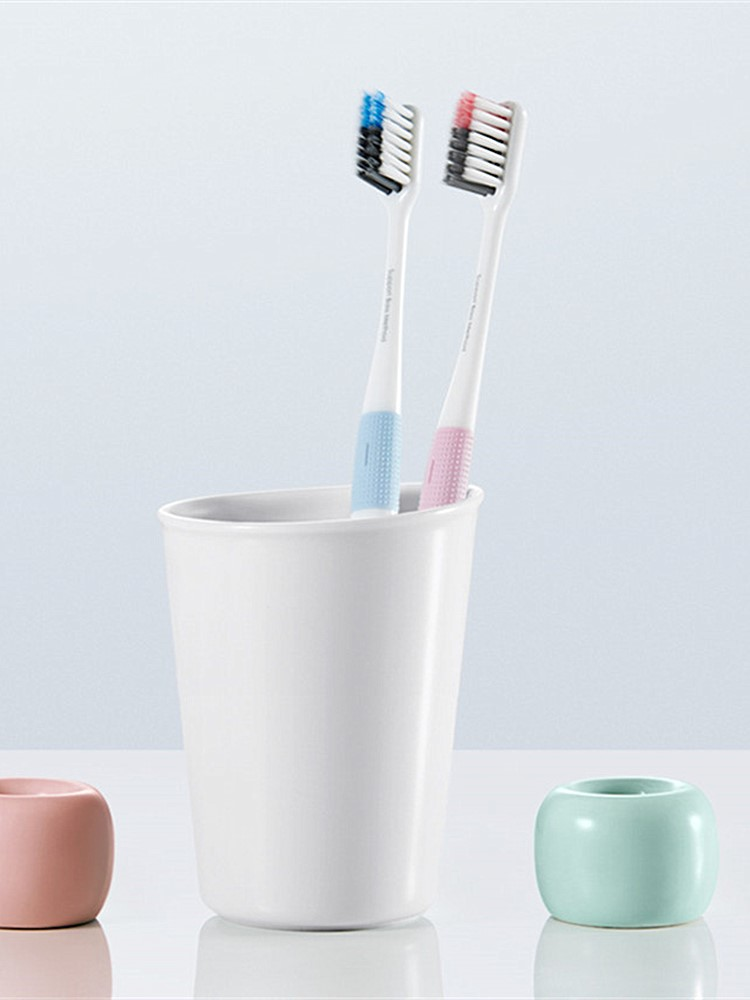 Dr.bei Toothbrush Clean-Brush Travel-Box Bass-Method Teeth Xiami In-1set Soft with 4-Colors