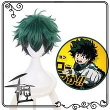 IHYAMS Wig My Boku no Hero Academia Izuku Midoriya Short Gre