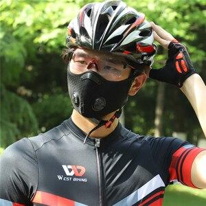 Image 5 - 100 pièces/lot réutilisable Anti masque protecteur masque de bouche pour Pcs lavable coton Masques blanc tissus Protection Masques faciaux
