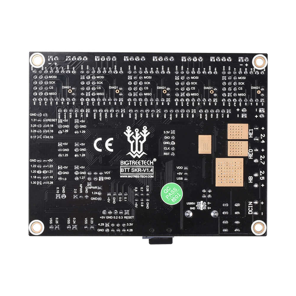 BIGTREETECH SKR V1.4 BTT SKR V1.4 Turbo Junta de Control de 32Bit SKR V1.3 SKR 1,4 TMC2209 TMC2208 3D piezas de la impresora para Ender 3 Pro