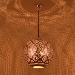 U nas państwo lampy wiszące lampy dla restauracji hotelu żelaza różowe złoto Wiszące lampki    -