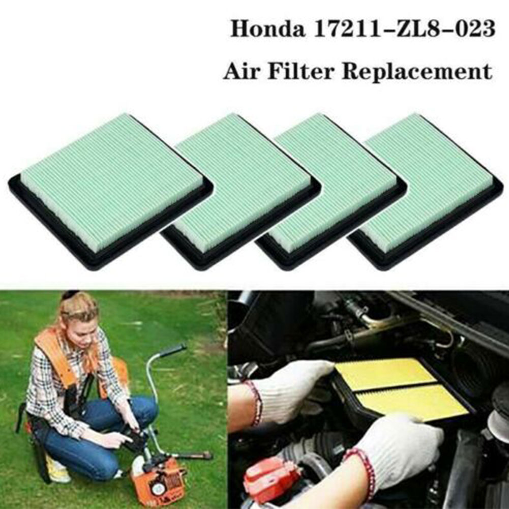 1/4 PCS Lawn Mower Air Filter Cleaner Fit For Honda GCV135 GC160 GCV160 HRR216  17211-ZL8-023 GCV160/190 Lawn Mower