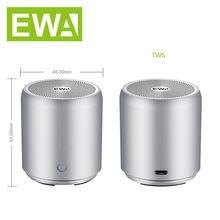 Портативный Супер Мини bluetooth динамик ewa a107 tws беспроводной