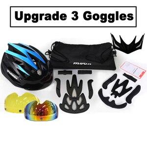 Image 4 - MOON велосипедный шлем Сверхлегкий велосипедный шлем в форме MTB дорожный горный велосипед шлем Casco Ciclismo S/M/L/XL