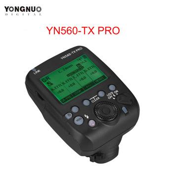 YONGNUO YN560-TX PRO 2 4G On-lampa błyskowa wyzwalacz bezprzewodowy nadajnik do Canon lustrzanka cyfrowa YN862 YN968 YN200 YN560 Speedlite tanie i dobre opinie AA battery YN560-TX PRO Flash Trigger for YN862C YN968C YN200 YN560III YN560IV YN860Li YN720 YN660 YN685