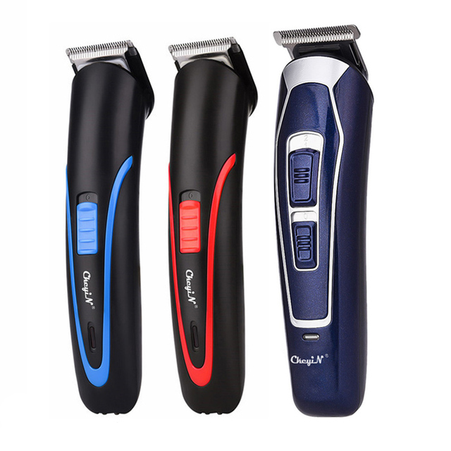 CkeyiN Rechargeable Barber Hair Trimmer for Men Low Noise Shaving Hair Razor Cordless Hair Clipper Hair Cutting Machine Cutter 1