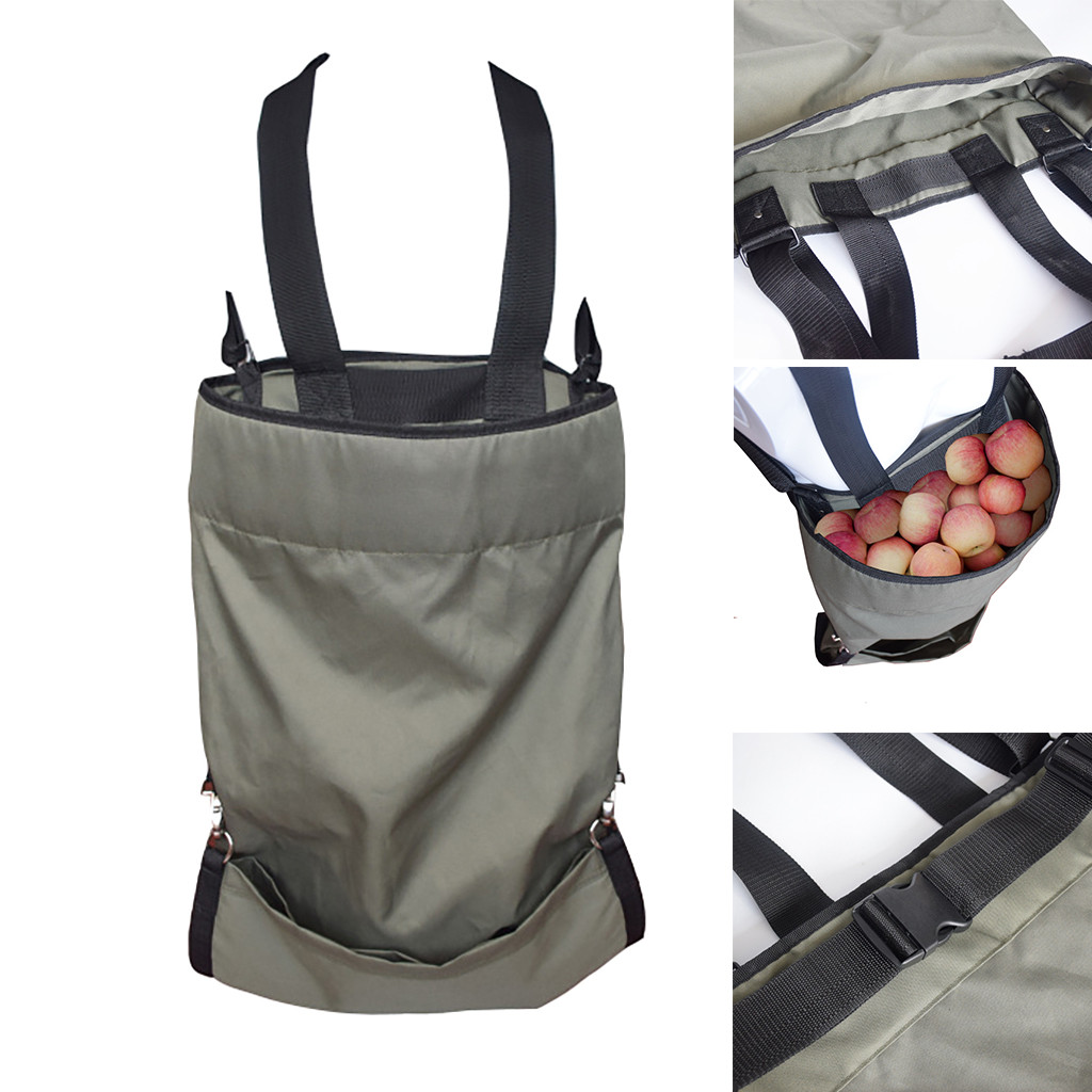 Orchard Supplies Fruits Picking Apron Storage Bag Waterproof Harvest Garden Apron 49 x 86cm High strength Oxford Fabric|Aprons| |  - title=