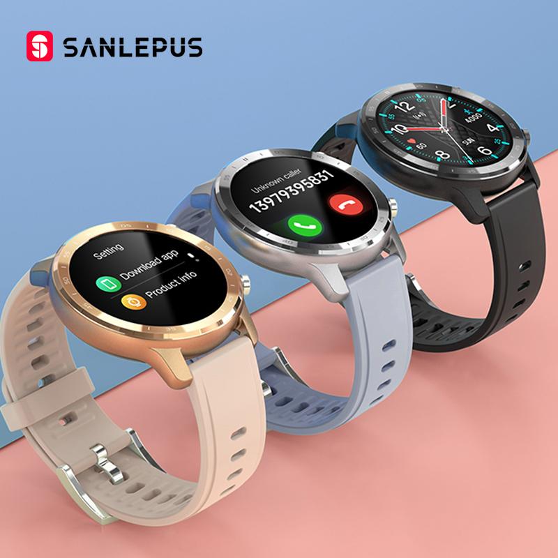 SANLEPUS 2021 NEW Smart Watch Men Women IP67 Waterproof Watches Smartwatch Heart Rate Monitor For Android Xiaomi Samsung iPhone