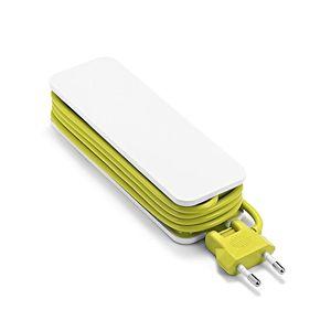 Image 3 - Ue listwa zasilająca z 4 przenośnymi przedłużaczami USB wtyczka Euro 1.5m kabel podróży Adapter USB inteligentna gniazdkowa ładowarka do telefonu pulpit Hub