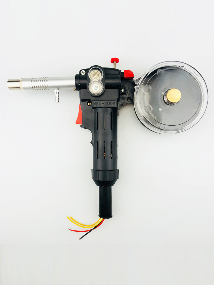 NBC-200A MIG MAG Welding Gun Spool Gun Push Pull Feeder Welding Torch Without Cable