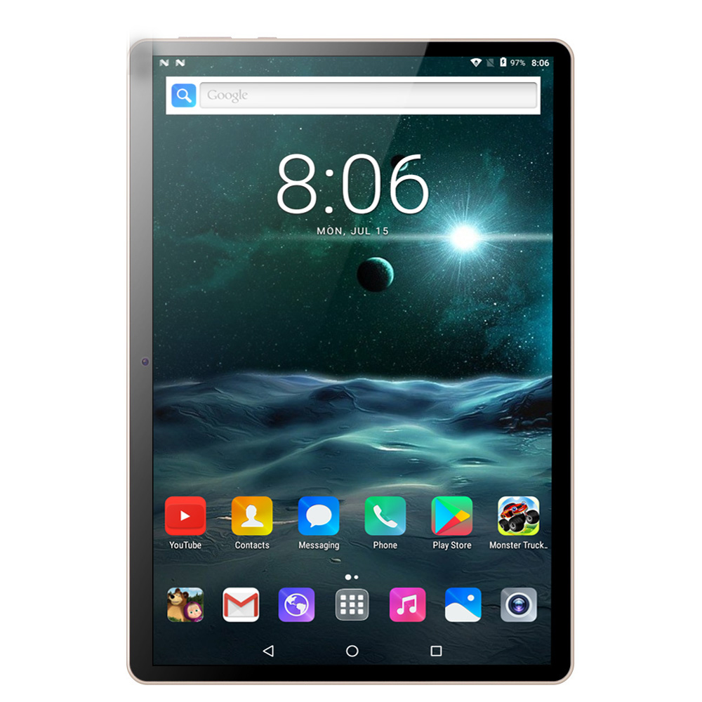 10.1 Inch PC Tablet Android 7.0 3G/4G Phone Call Quad Core 4GB/64GB Dual SIM Cards Wi-Fi IPS +Keyboard