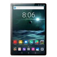 Tablet PC da 10.1 pollici Android 7.0 3G/4G di Chiamata di Telefono Quad Core 4 GB/64 GB dual sim Card Wi-Fi IPS + Tastiera