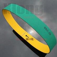 2x40x1353mm Nylon Belt Chip Base Band Textile Flat Belt Conveyor Transmission Timing Belt