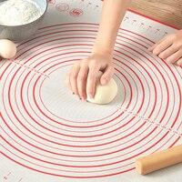 Silikon Backen Matten Blatt Pizza Teig Nicht Stick Maker Halter Gebäck Küche Gadgets Kochen Werkzeuge Utensilien Backformen Zubehör-in Nudelhölzer & Nudelbretter aus Heim und Garten bei