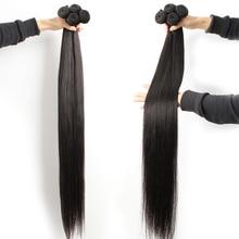 8 40 インチマレーシアの毛束人間の髪バンドルロングラスト 1/4/10 フル髪バンドル fashow 販売