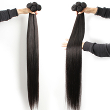 8 40 дюймовые малайзийские волосы пряди прямые натуральные волосы пряди длинные последние 1/4/10 пряди волос