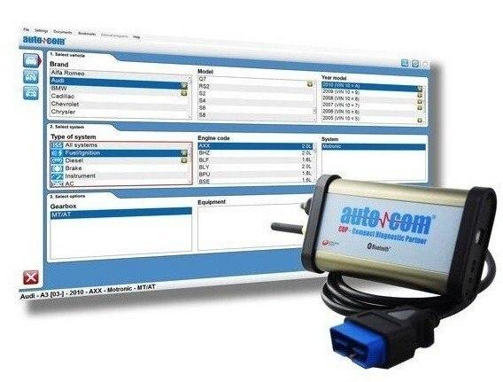 2020 Car Diagnosic tool FOR AUTOCOM cars & trucks(Compact Diagnostic Partner ) Auto Scanner CDP Muli-language
