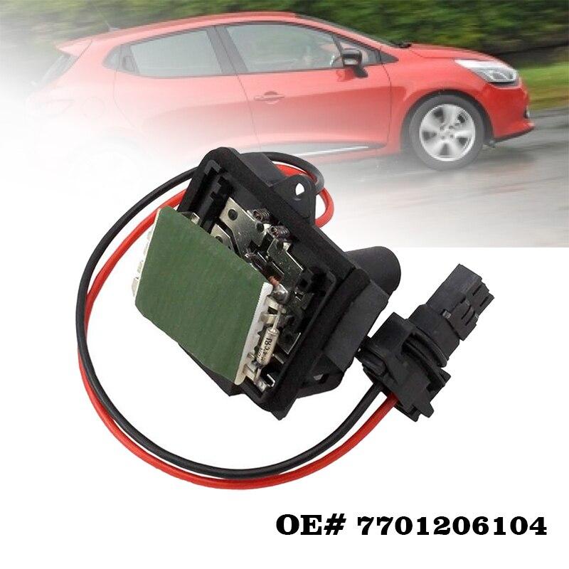 Переменного тока вентилятора отопителя, резистор мотора кондиционер привод для Renault Clio II Kangoo OE #7701206104