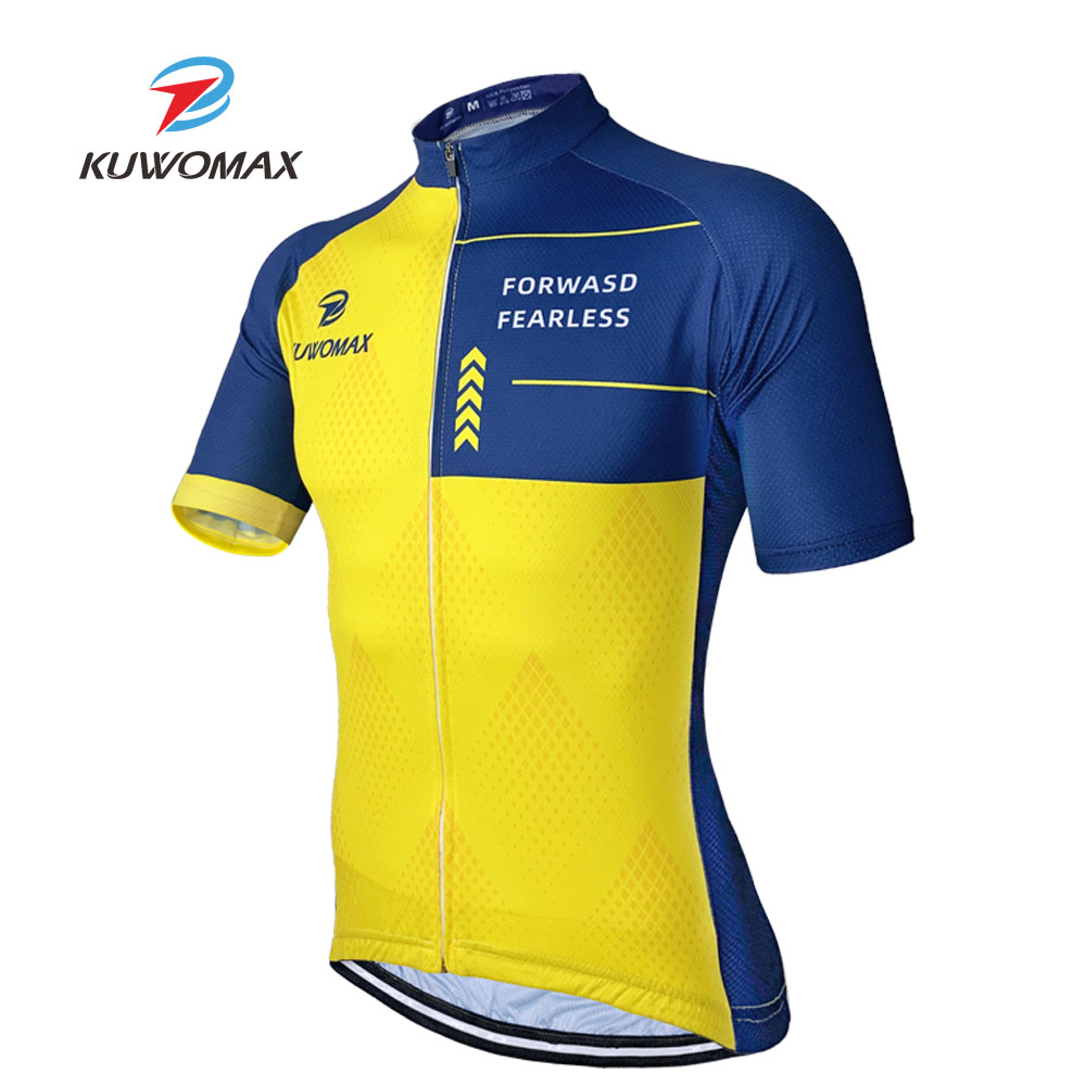 KUWOMAX 2020 New Bike Pro Cycling Jersey Ropa Ciclismo MTB Bicycle Cycling Clothing Summer Bike Jersey Shirt Maillot Ciclismo. image