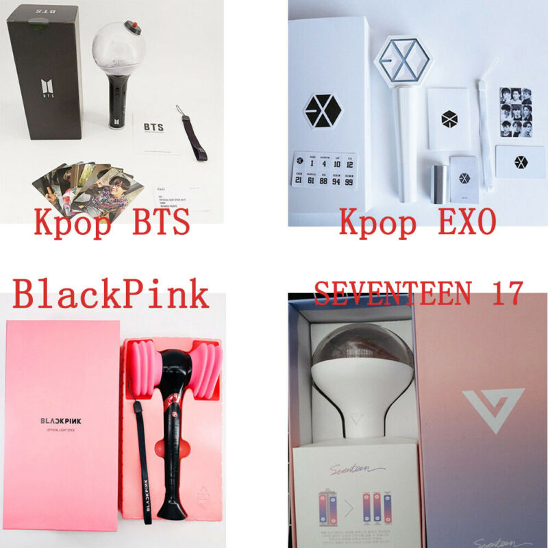 UK STOCK Light Stick Lamp For Fans Of Kpop BTS/ Kpop EXO/BLACKPINK/SEVENTEEN17