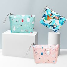 Storage-Bag Diaper-Organizer Baby Mummy Waterproof Print Travel Multifunctional Fashion-Printing