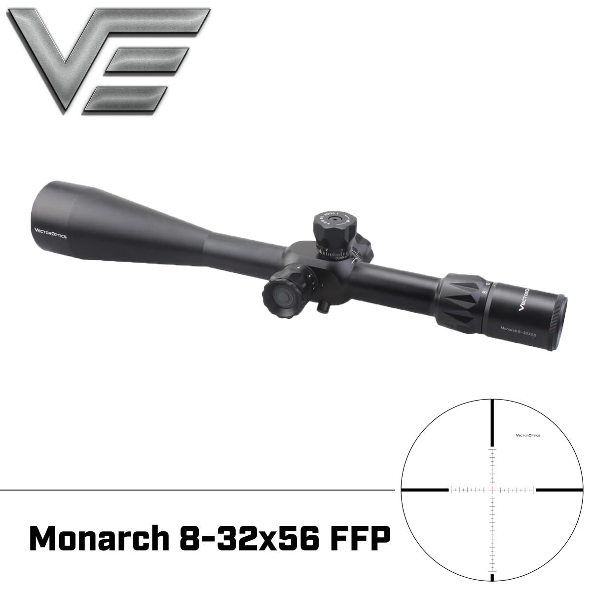Vector Optics Monarch 8 32x56 FFP Tactical Zielfernrohr 1/8 MOA Mildot Absehen mit Mount & Sonnenschirm Zielfernrohr für Schießen-in Zielfernrohre aus Sport und Unterhaltung bei AliExpress - 11.11_Doppel-11Tag der Singles 1