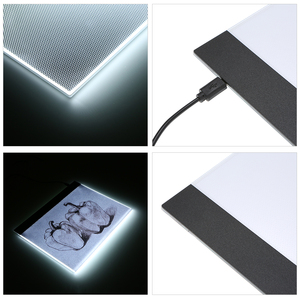 Image 3 - Drawing Board Tablet Writing Painting Light Box Tracing Board Copy Pads Digital Drawing Tablet Artcraft A4 Copy Table LED Board
