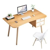 コンピュータデスクデスクトップ北欧シンプルなデスクライティングデスクシンプルなホーム学生デスク単一寝室小さなテーブル -