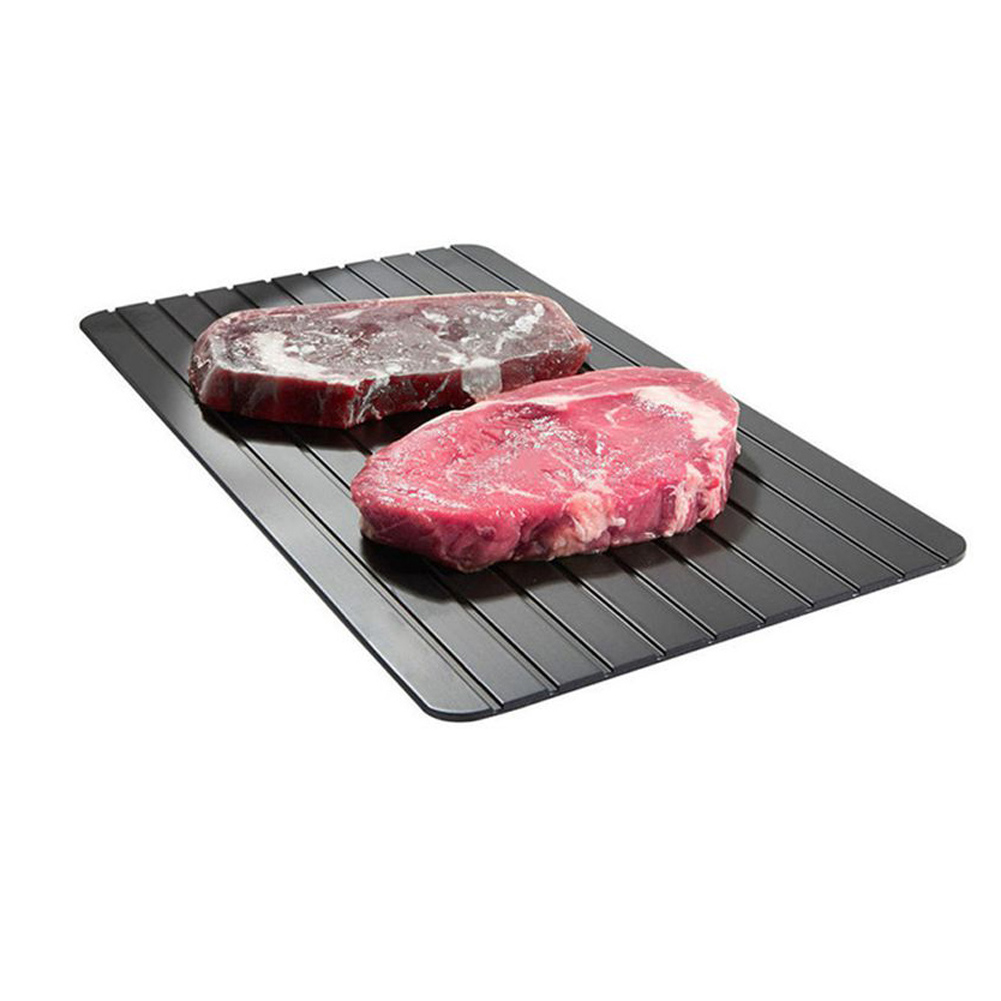 Fast defrosting meat tray quick safety cutting board defrosting tray Quick defrosting plate for frozen food meat cooking tool image