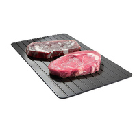 Fast defrosting meat tray quick safety cutting board defrosting tray Quick defrosting plate for frozen food meat cooking tool Defrosting Trays     -