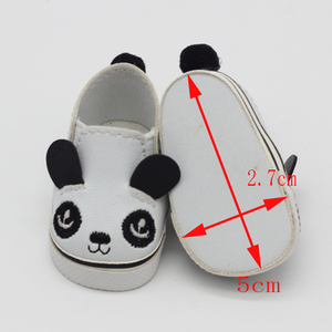 Image 4 - 5.5*2.8cm PU Cute Doll Strap 14 inch Shoes For 1/6 Doll EXO dolls fit 14.5inch girl dolls boots Clothing Accessories toys Boots