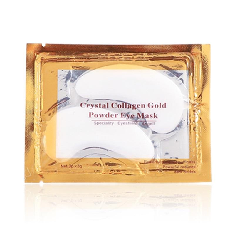 Купить с кэшбэком 60Pcs 24K Gold Crystal Collagen Eye Mask Eye Patches  Anti Aging Acne Moisture Patches For Eye Beauty Korean Cosmetics Skin Care