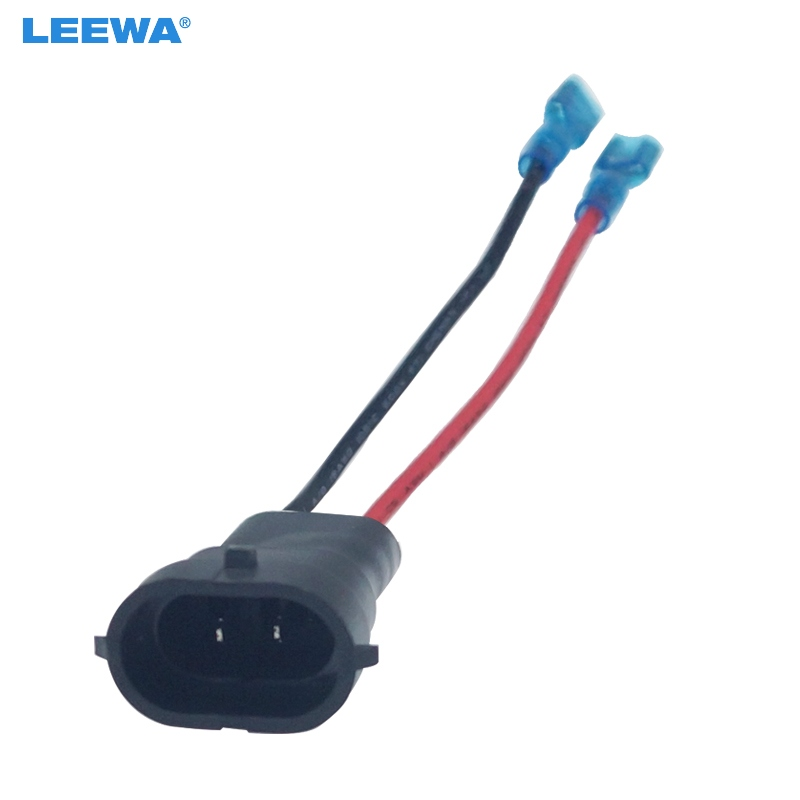 Extension Wire Pigtail Female Ceramic H3 Fog Light Bulb Repair Socket Replace OE