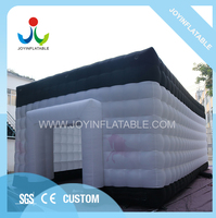 10X6X4M White and Black Customized Inflatable Outdoor Marquee Tent