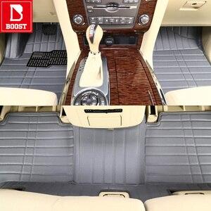 Image 2 - 도요타 Fortuner 2017 오른손 드라이브 방수 사용자 정의 자동차 자동 발 패드에 대한 부스트 자동차 바닥 매트