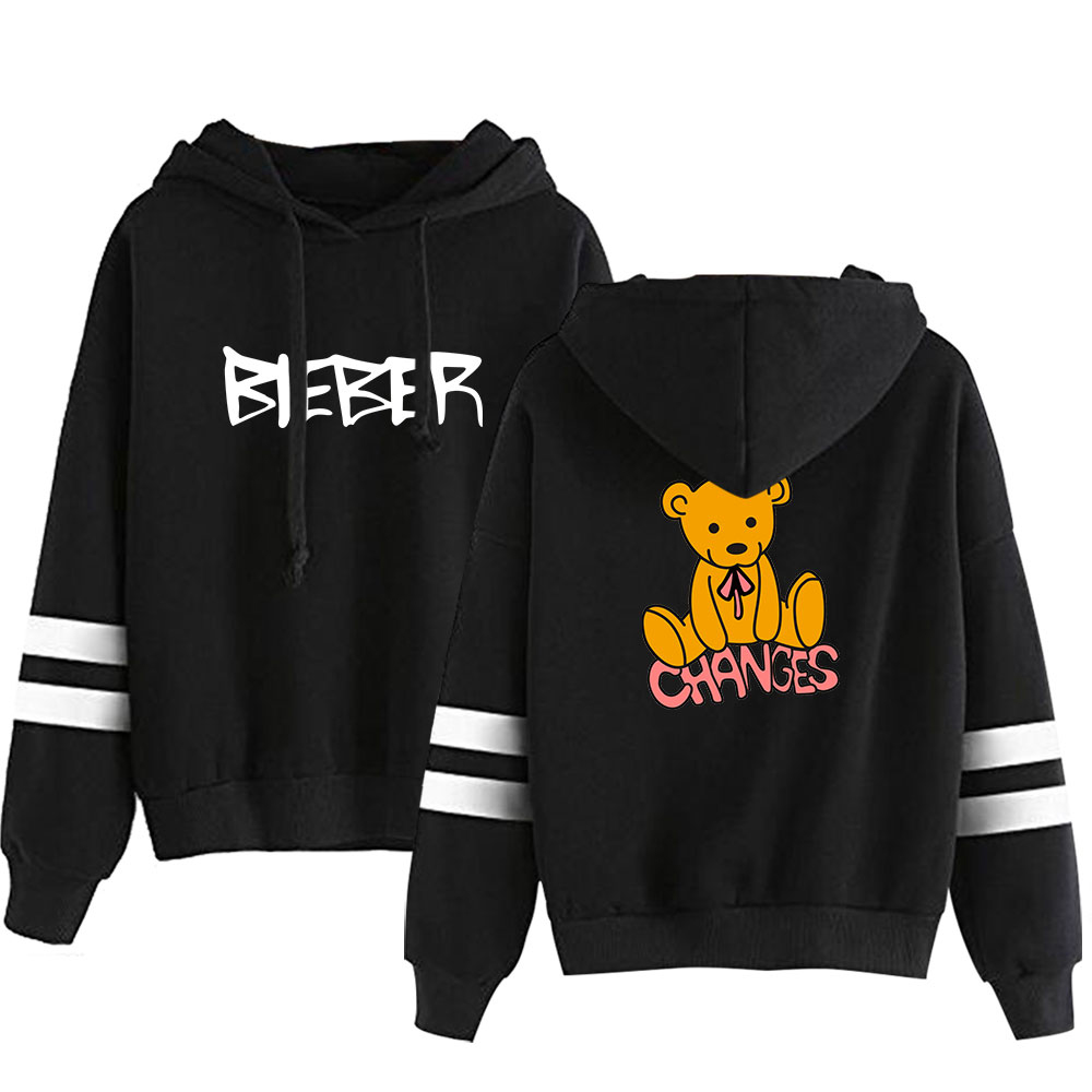 Justin Bieber Hoodies 2020 New Album Change Kpop Fashion Harajuku Hoodies Sweatshirt Pullover Sweatshirt Streetwear Clothing