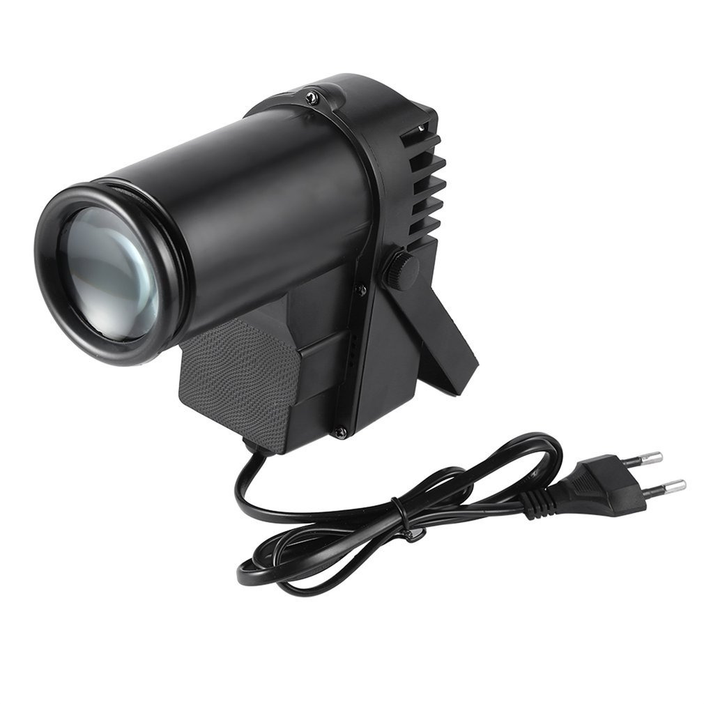 30W RGBW LED DMX512 Stage Light Pinpot Beam Spotlight 6CH DJ/DISCO/Party/KTV Led Stage Effect Light Home Entertainment