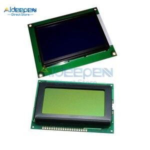 Модуль для Arduino Raspberry Pi STM32 3D принтера, 5 в постоянного тока 128x64 точек Графический 12864 ЖК-дисплей с подсветкой ST7920 IIC I2C SPI