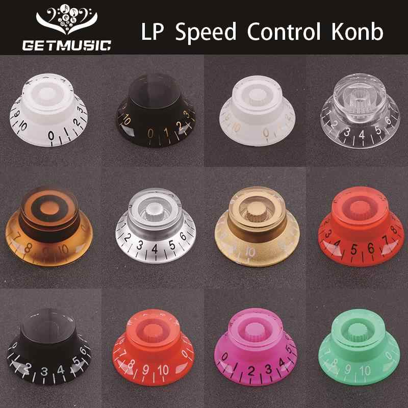 2Pcs Multi Color LP Electric Guitar Volume Tone Knob Top Hat Straight Guitar Speed Control Knob Plastic