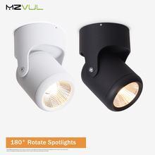 Светодиодный потолочный светильник cob с регулируемой яркостью