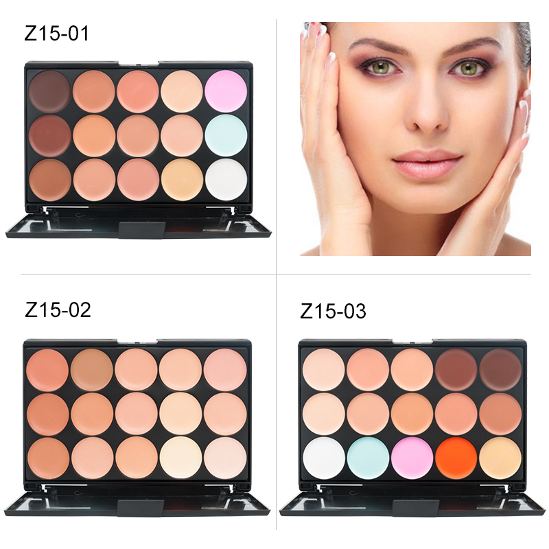 Women Face Makeup Hide Blemish Concealer Contouring Cream Perfect Cover Beauty Tool